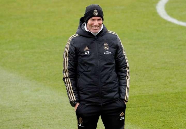 Zinedine Zidane, entrenador del Real Madrid. Foto: EFE