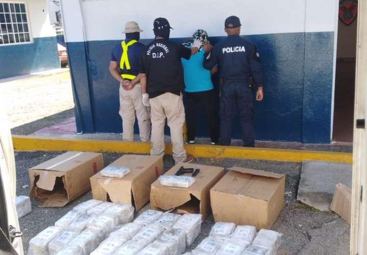 Simulaba llevar mercancía hacia Chiriquí, pero cargaba droga