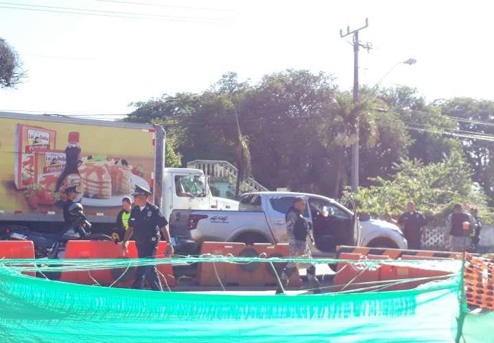 Colisión casi termina en tragedia en Chitré