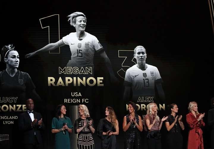 Megan Rapinoe, Balón de Oro femenino 2019