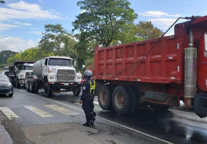 Camioneros de Oeste exigen participación en los proyectos de Gobierno [Video]