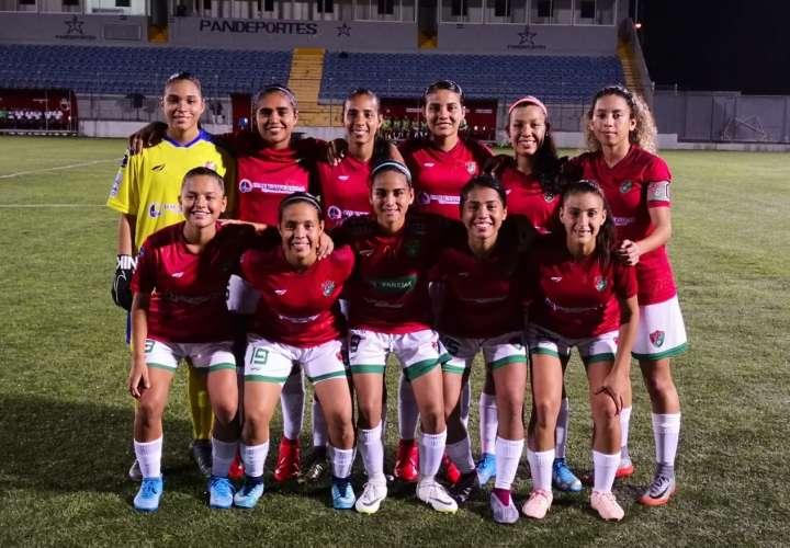 El Atlético Chiriquí ha sido la sorpresa del campeonato. Foto: LFF