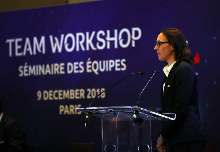 Rhiannon Martin, jefa de operaciones de torneos femeninos de FIFA. /Foto: Fepafut