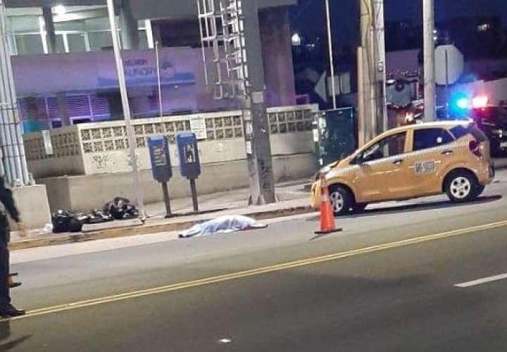 Mujer muere atropellada en la vía José Agustín Arango [Video]