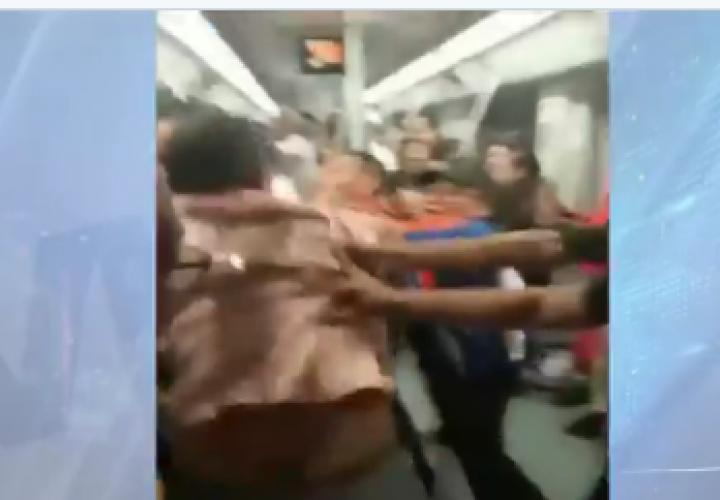 Sancionan a implicados en trifulcas dentro del metro de Panamá [Video]