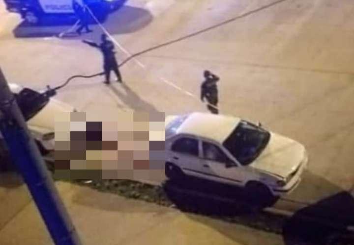 Balacera en Arraiján deja un muerto y una mujer herida
