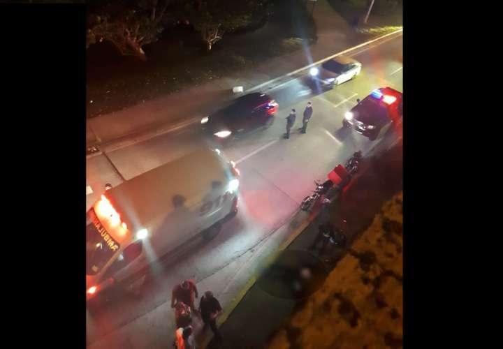 Venezolana muere tras caer de una motocicleta en Paitilla