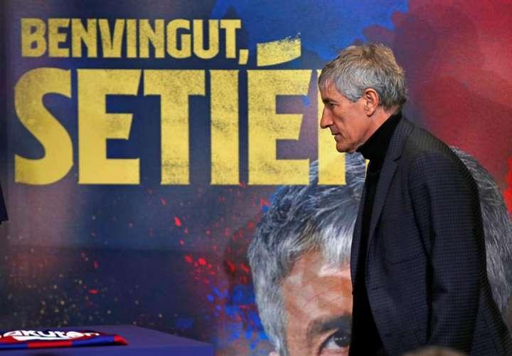 Quique Setién. /EFE