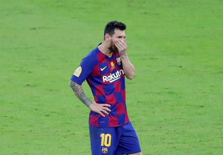 El delantero argentino Lionel Messi. Foto: EFE