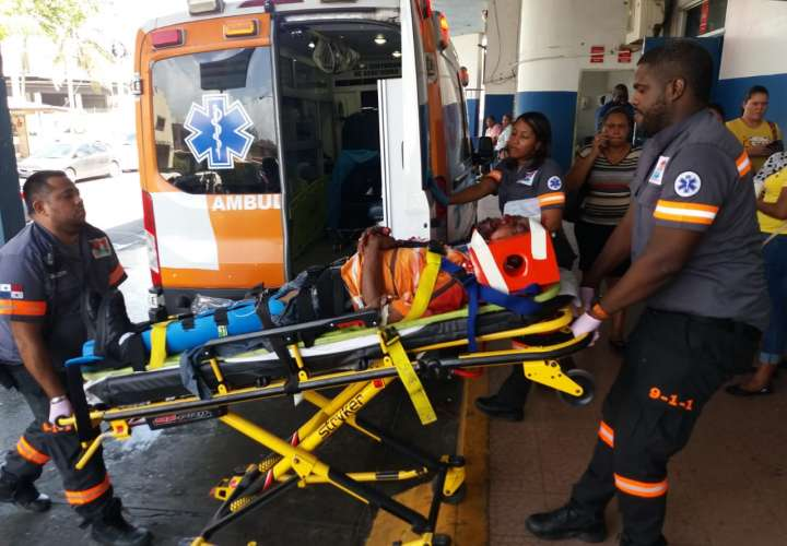 Cuatro heridos en tres accidentes en Colón
