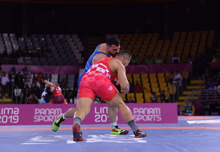 Alvis Almendra, medallista panamericano (rojo). Foto: COP