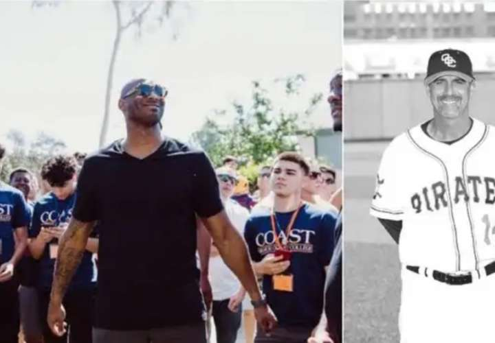 Kobe Bryant y John Altobelli