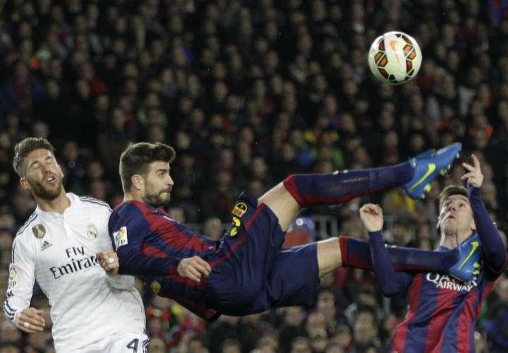 Gerard Piqué, defensa del Barcelona. Foto: AP