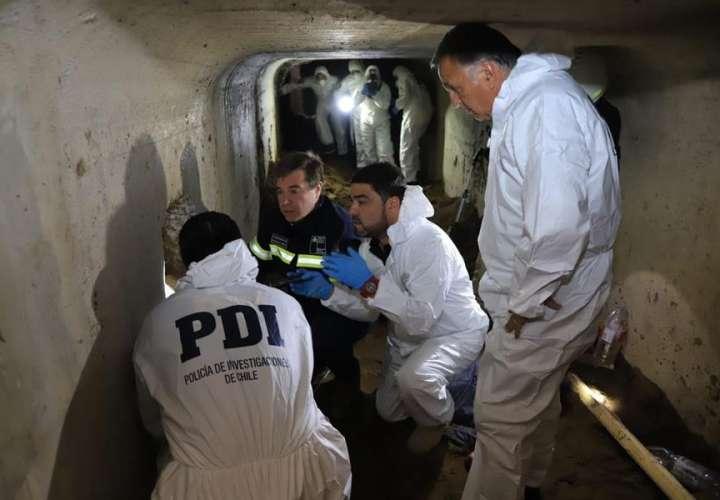 Chile: Excavaban un túnel de casi 50 metros para robar un banco y los pescaron
