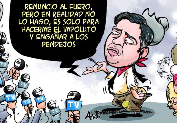 Caricatura del 10 de febrero de 2020