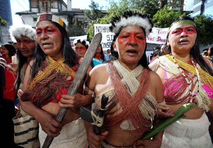 Indígenas exigen hacer consultas