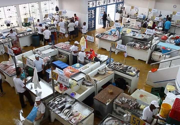 Verifican balanzas y precios en el Mercado de Mariscos