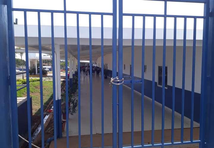 Dos colegios de Chiriquí se mantienen en paro de labores