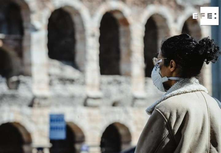 Muertos en Italia ya son 6.820, 743 más en un día y rompe la tendencia a la baja