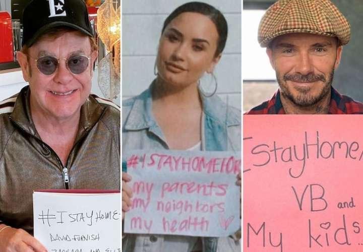 Famosos de Hollywood se unen para combatir el coronavirus mortal
