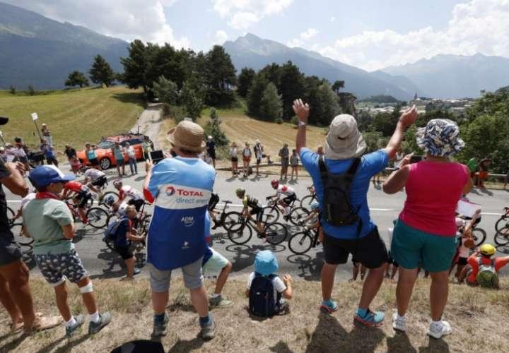 El Tour de Francia, máximo evento del ciclismo. /AP