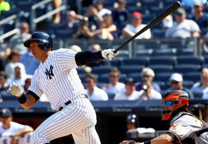 El excapitán del equipo de béisbol los Yanquis de Nueva York Álex Rodríguez