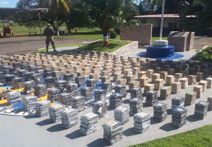 Decomisan una tonelada de droga en Punta Burica