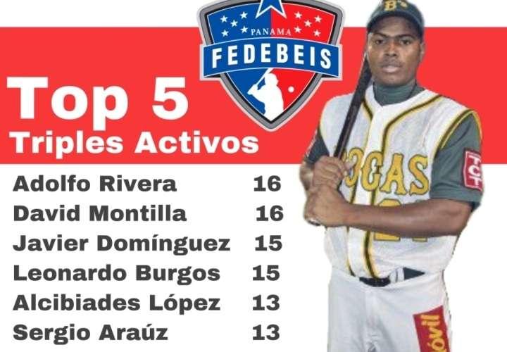 Capirita' Rivera, entre los líderes activos del béisbol mayor