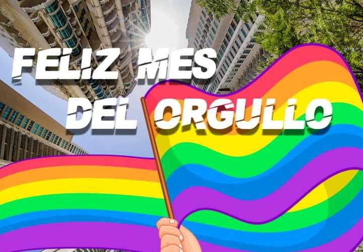 Comunidad LGBTQI+ iza la bandera del Orgullo Gay en las redes