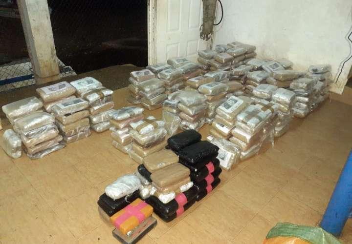 Incautan 251 paquetes de droga en Isla Rey