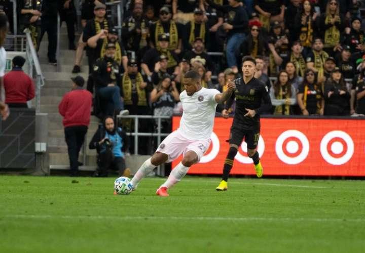 Román Torres juega para el Inter de Miami.