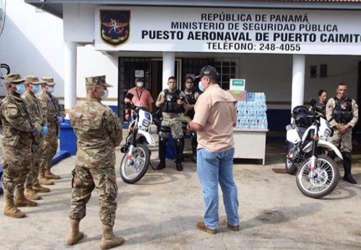 Ministro de Seguridad verifica condición de cuarteles