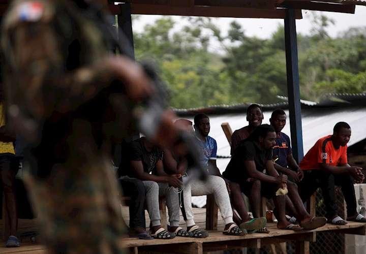 41 migrantes con COVID-19 aislados en Darién