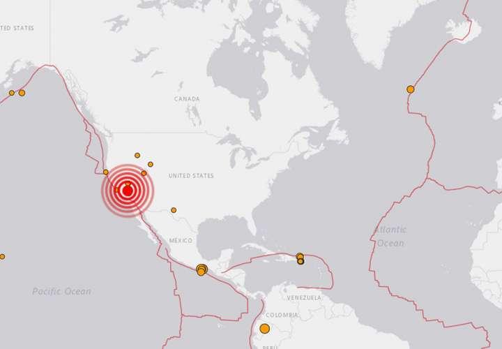 Un sismo de magnitud 5,8 sacude California