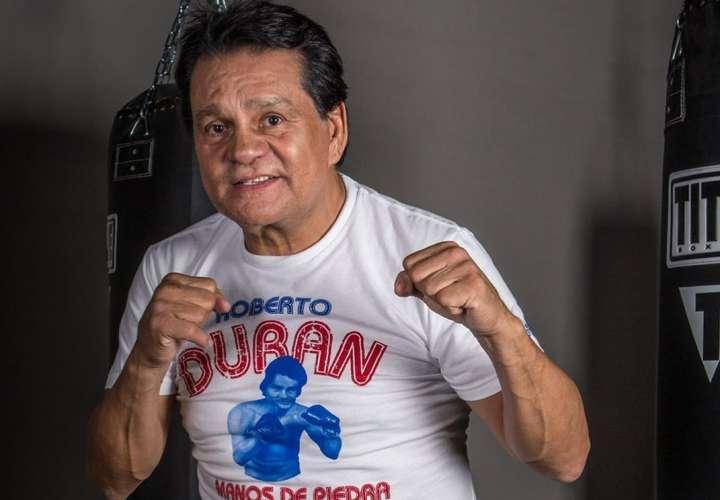 """Roberto """"Mano de Piedra"""" Durán, la máxima gloria del boxeo panameño."""