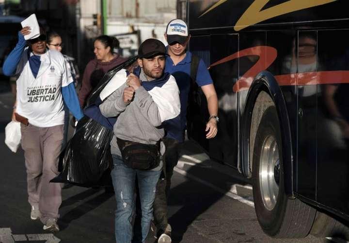 Costa Rica restablece tránsito coordinado de nicaragüenses desde Panamá