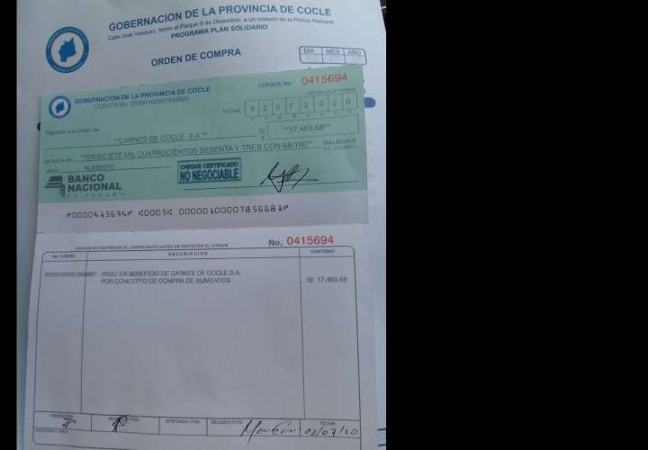 Detectan grupo de estafadores emitiendo cheques falsos