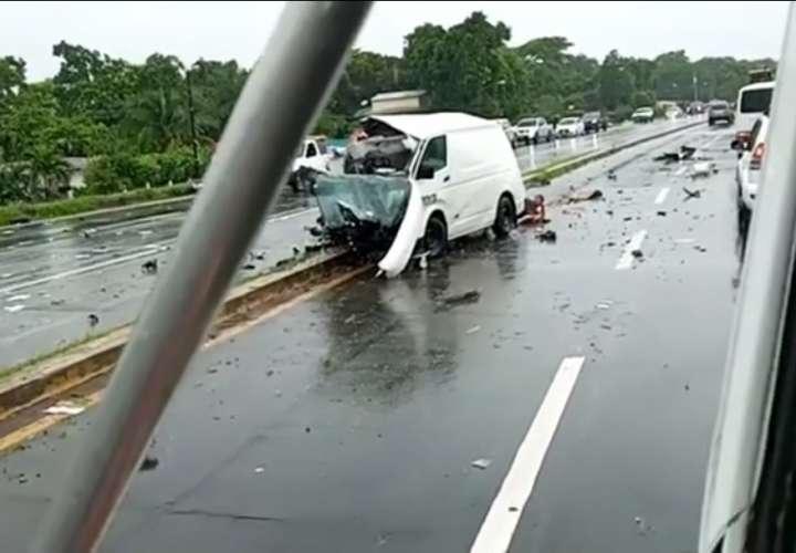 Una víctima fatal deja accidente de tránsito en Antón