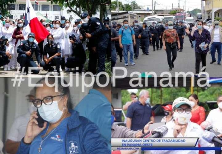 "Epidemióloga conocida por frase: ""Buenas tardes, equipo Panamá"", en cuarentena"