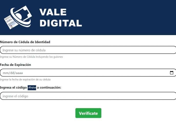360,978 panameños recibirán transferencia del vale digital esta semana
