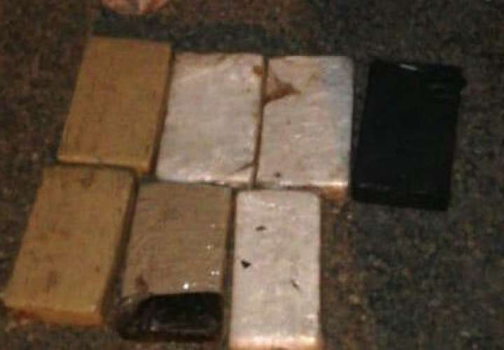 Ubican 7 paquetes de cocaína en playa María Chiquita