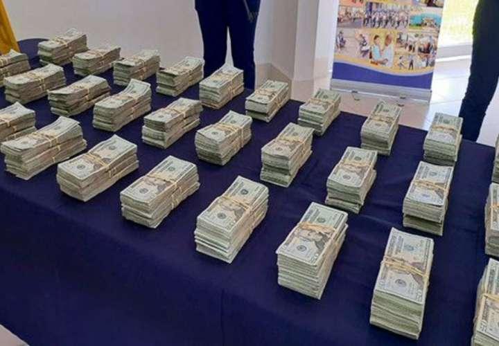 Decomisan más de 5 millones de dólares producto del narcotráfico en un año