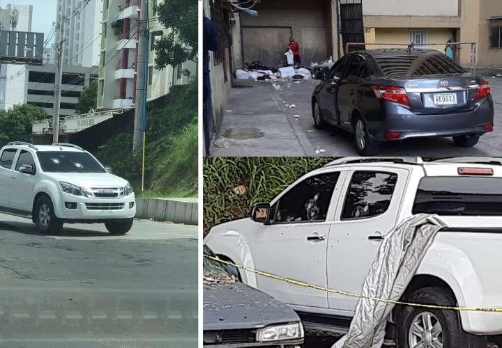 Tarde de automóviles baleados y retenidos en ciudad capital
