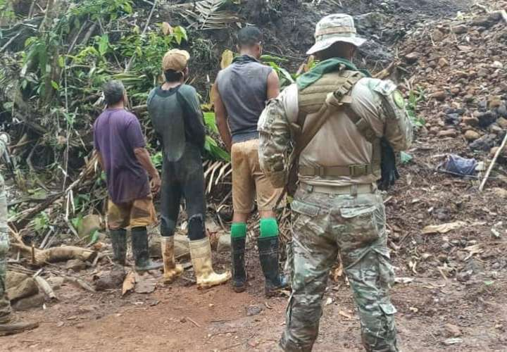 Operativo sorpresa detecta a mineros ilegales