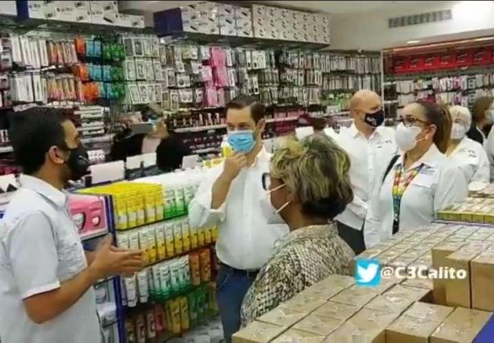 Inspeccionan empresas de la Zona Libre de Colón ante reapertura del lunes