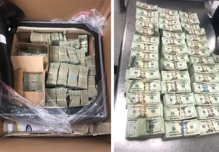 Decomiso: Criminales ocultan $491.280 en cojín de silla para enviarlos al Caribe