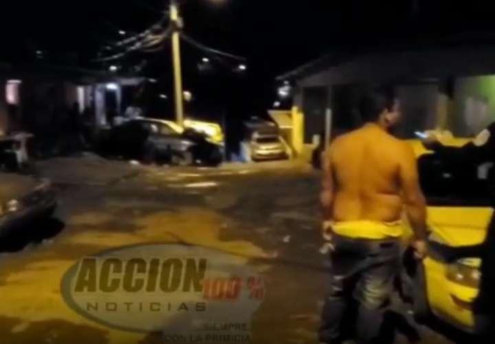 Se forma balacera en Colón después de un entierro; hay 4 heridos