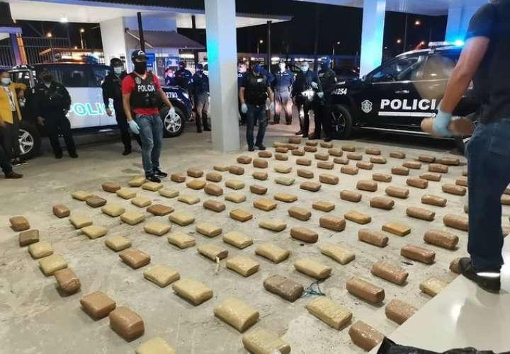 Hallan 145 paquetes de droga en una casa en Emberá Purú [Video]
