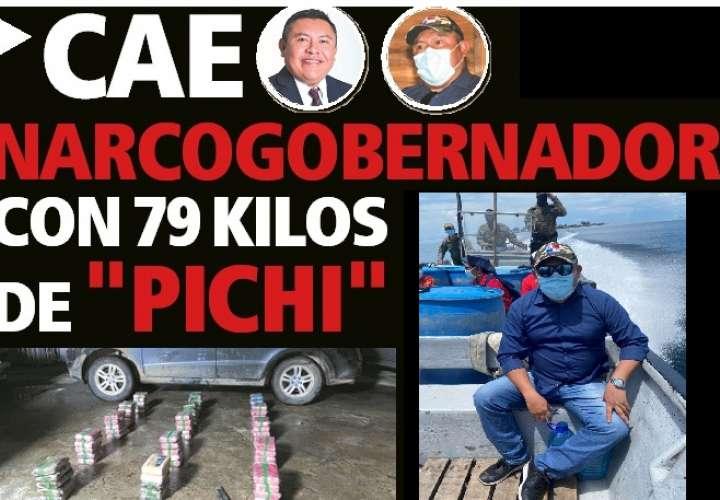 GoberNarco cae con 79 kilos de coca