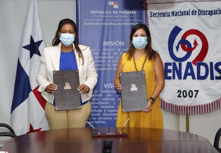 Senadis firma acuerdo clave de cooperación con la OEI